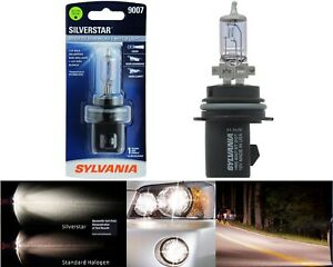 Sylvania Silverstar 9007 HB5 65/55W One Bulb Head Light Dual Beam Plug Play Lamp