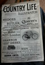 Country Life Illustrated. Volume 1, Issue 1, January 8th, 1897. A facsimile issu