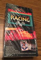 1992 ALL WORLD RACING Trading Card Box Indy Cars 🏁 Possible Autograph SEALED
