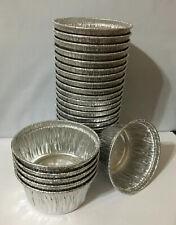 4oz Aluminum Foil Muffin / Ramekin Cups 25 Pack