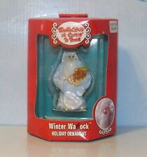 Santa Claus Is Coming To Town Warlock Christmas Ornament New In Box