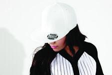 RAPPER CAP HIP HOP BIANCO trendy con Patch rap b665