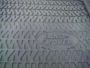 Genuine Land Rover Defender To 1998 Front Rubber Floor Mats Pair Part RTC8098AB