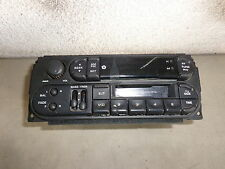 AM FM Cassette Radio Digital 00 01 02 Plymouth Neon White 4 Dr 2.0 OEM