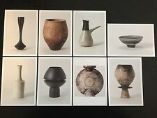 Set of 8 Exhibition Postcards Hans Coper & Lucie Rie - Potters in Parallel 1997
