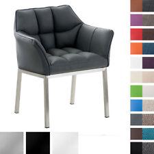 Esszimmerstuhl OCTAVIA mit Armlehne Sessel Stuhl Loungesessel Kunstleder Stoff