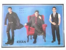 """SHAH RUKH KHAN SALMAN AAMIR Poster Bollywood unique lovely INDIA 16""""11"""""""