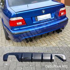 BMW E39 Limousine Heckdiffousor Diffusor M5 Duplex Carbon Look  ABS gloss