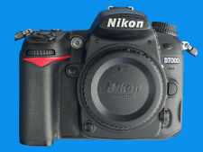 NIKON D7000 16.2MP DSLR Camera Body,  Less Than 11,000 Actuations, Boxed