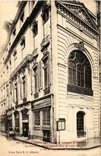 CPA PARIS (2e) 2, Rue de la Jussienne Hotel habite par Duplaix (537421)