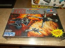 SEALED MPC Star Wars Return of The Jedi 3 Piece Set B-Wing Fighter X-Wing TIE