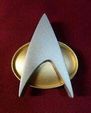 Star Trek The Next Generation Combadge Communicator Pin Badge Uniform Costume
