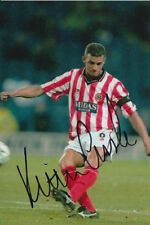 SHEFFIELD UNITED HAND SIGNED KEITH CURLE 6X4 PHOTO.
