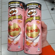 2 CANS Pringles CRAB Flavour taste 165g. From Russia Soccer series Crisps Chips