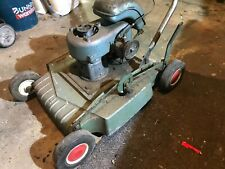 very old lawn mower  JAP MOTOR 4