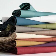 Grab It! Waterbed 4 Pcs Sheet Set Egyptian Cotton Solid Colors Us Super Single