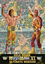 #116 MAKE YOUR SELECTION WWF WWE WRESTLEMANIA 6 HOGAN WARRIOR A4 A3 POSTER PRINT