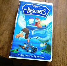 The Rescuers (VHS, 1998 Clamshell) Walt Disney Masterpiece Collection
