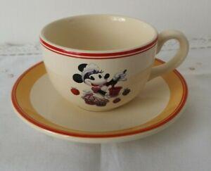 Disney Resort Paris Minnie Mouse Cup & Saucer