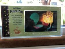 Disney's Peter Pan  -Disney Lenticular Motion Mini Cel- Collector Film Cel