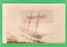 More details for french barque ehen shipwreck mutton cove portland 1890 rp pc ab466
