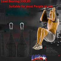 AB Sling Suspension Hanging Straps Abdominal Reverse Pull Up Gym Bar Fitness US