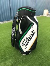 Very Rare TITLEIST 9.5 Staff Bag - Green and Gold Accent Colours - Promo Bag