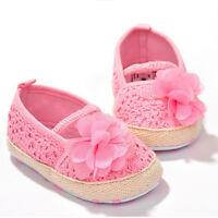 Baby Girl Flower Crocheted Crib Shoes Anti-slip Toddler Newborn Shoes Hot SaleMW