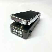 More details for colorsound wah-wah guitar pedal. superb early version. very original condition.