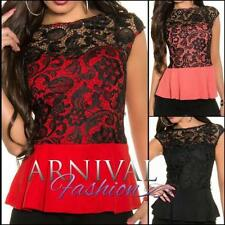 Polyester Formal Floral Tops & Blouses for Women