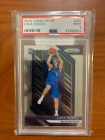 "LUKA DONCIC  2018-19 PANINI PRIZM BASKETBALL ROOKIE #280 ""MAVERICKS"" PSA 9"