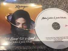 Michael Jackson Ft Justin Timberlake Love Never Felt So Good Rare 2 Trk Promo Cd