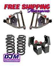 DJM Suspension 1973-1987 C10 C15 5/5 Lowering Drop Control Arm Coil Flip Kit