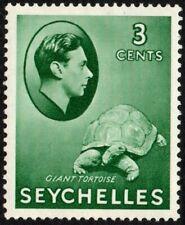 Seychelles 1938-49 3c. giant tortoise, MH (SG#136)