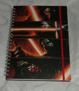 Star Wars Kylo Ren A4 Notebook Jotter school office Spiral Bound Note Pad NEW