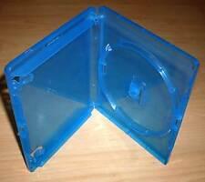 5 Blu Ray Hüllen Case Cases Hülle blau für Blu-Rays Blue Ray 14mm 1fach Neu