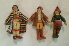 Vintage Childs Doll/Figurine Hallmark 1979 Chief Joseph Amelia Earhart Drummer