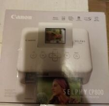 Canon SELPHY CP800 Digital Photo Compact Inkjet 4 x 6 - New in Box White color