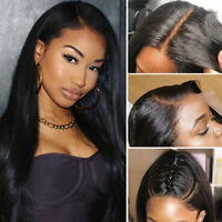 Straight Brazilian 8A Human Hair 360 Lace Front Wig Silk Base Full Lace Wigs gf8