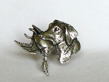 More details for labrador dog & duck shooting fine pewter cufflinks gift mens jewellery boxed