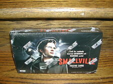 Cryptozoic Smallville Seasons 7-10 Factory Sealed Trading Card Hobby Box
