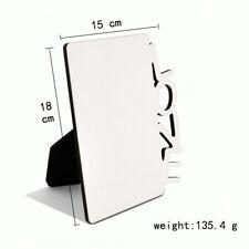 10pcs diy Sublimation Wooden hard board photo frame White blank MDF photo panel