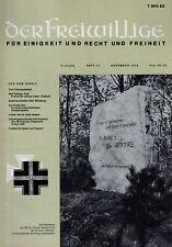 DER FREIWILLIGE 11/1973    WH/HIAG/SOLDAT/KRIEG