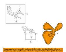 KIA OEM 10-13 Forte-Serpentine Drive Fan Belt 2521225000