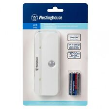 Westinghouse LED Motion Sensor Night Light 20+Lumen Easy Mounting AAA Batteries