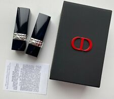 Dior Lipstick 999 999 mate SET 2X 1,5 g 0.05OZ IN CASE MIRROR VIP GIFT MINIATURE