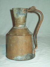 Primitive  Islamic/ Turkish hand made copper water  jug