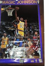 Brand New Magic Johnson Starline 1989 Posters Los Angeles Lakers Vintage Sealed!