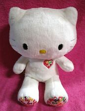 "Build A Bear Hello Kitty 35th Anniversary Colors Plush 15"" NO BOW"