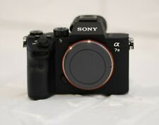 Sony Alpha A7 III Mirrorless Digital Camera - Body Only (Includes battery)